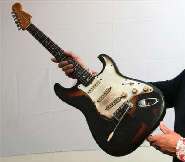 Hendrix' verbrannte Stratocaster