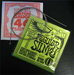 Ernie Ball - Guitar Strings