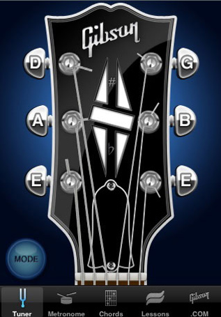 gibson-iphone-app