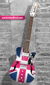 Modbird Royal Wedding Guitar